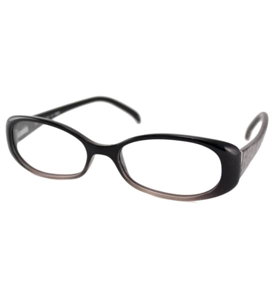 Fendi Readers Women's F935 Black Oval Reading Glasses
