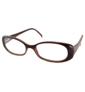 Fendi Readers Women's F935 Brown Oval Reading Glasses