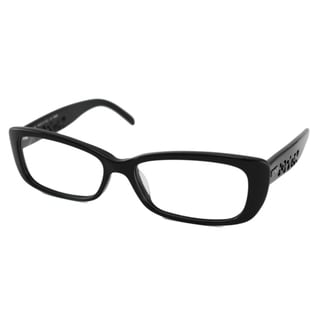 Fendi Readers Women's Black F855 Rectangular Reading Glasses