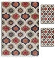Aqueous Primavera Ivory/ Multi Area Rugs (Set of 3)