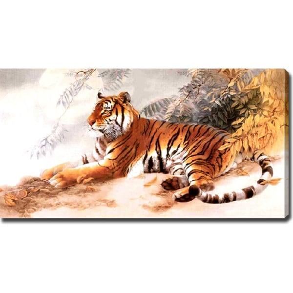 'Tiger' Giclee Print Canvas Art - Multi 11572856