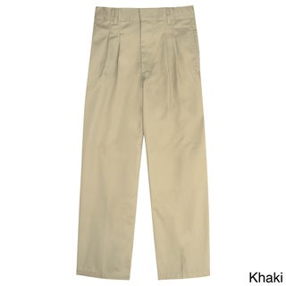 French Toast Boys Modern Fit Pleated Adjustable Waist Pants