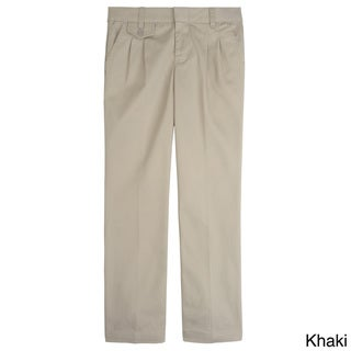 French Toast Boys Adjustable Waist Pleated Pants