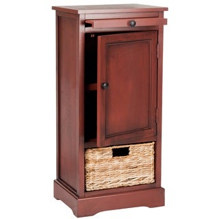 Safavieh Raven Red Tall Storage Unit