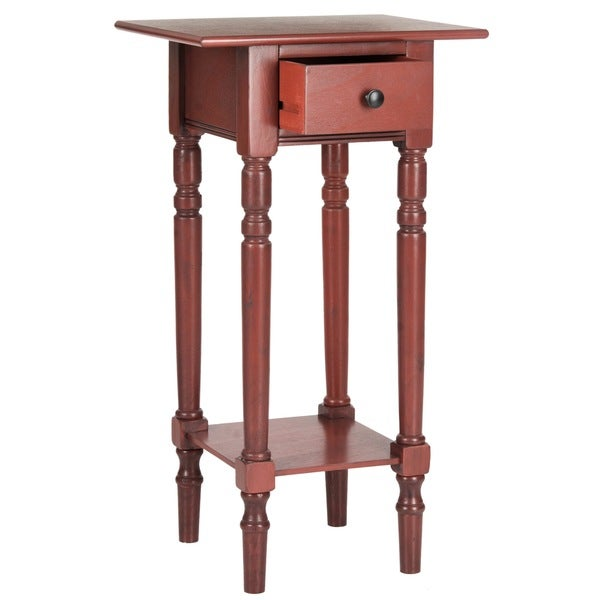 Safavieh Sabrina Red End Table