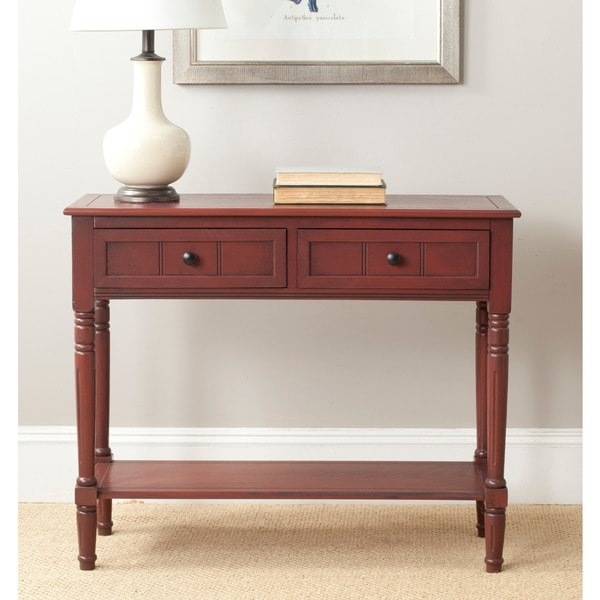 Safavieh Samantha Red Console