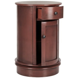 Safavieh Tabitha Red Storage Oval Cabinet
