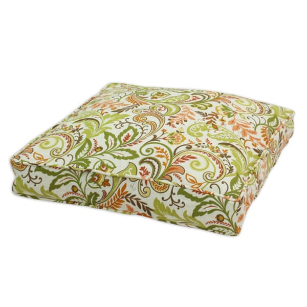 Findlay Apricot Self Backed 26x26 Box Self Corded Fiber Pillow