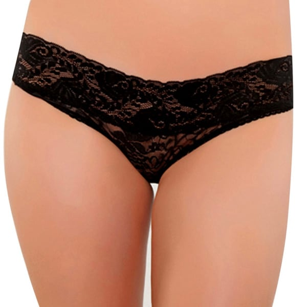 Seven Til Midnight Women's Lace Cheeky Panty