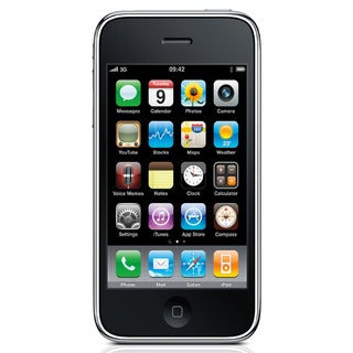Apple iPhone 3GS 8GB OEM/AT&T GSM Unlocked Cell Phone - Black
