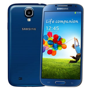 Samsung Galaxy S4 I9500 16GB GSM Unlocked Android 4.2 Phone - Blue