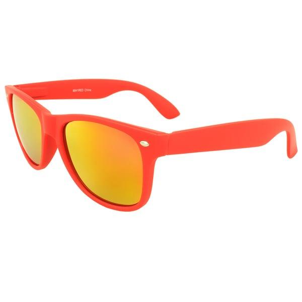 Red Mat Sunglasses with Revo Lenses