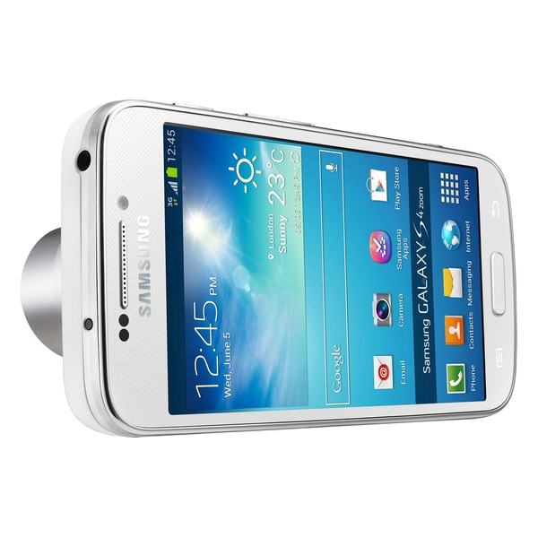 Samsung Galaxy S4 Zoom GSM Unlocked Android Camera/ Smartphone - White