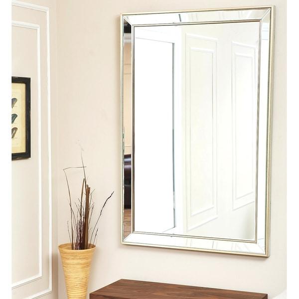 Abbyson Living Ariel Rectangle Wall Mirror Overstock