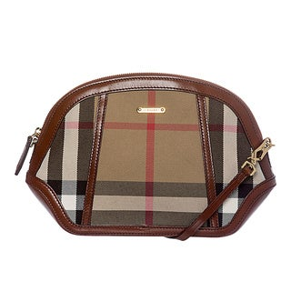 Burberry 3860928 Mini Orchard House Check Crossbody