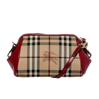 Burberry 3886071 Haymarket Mini Blaze Crossbody