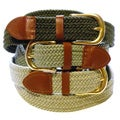 Men's Woven Stretch Belt