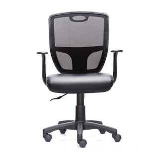 TechniFlex Cushion Executive Office Chair - Black