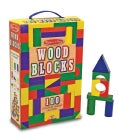 100 Wood Blocks Set (Novelty book)
