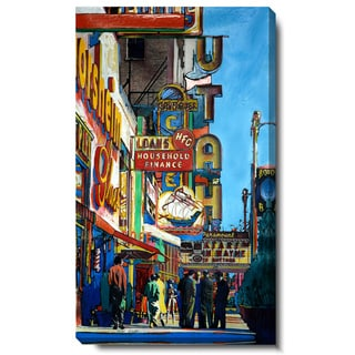 Studio Works Modern 'Utah City Street' Gallery Wrapped Canvas