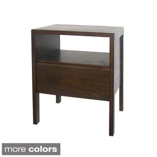 Handcrafted Wooden Nightstand