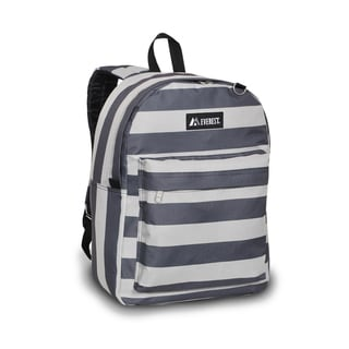 Everest 16.5-inch Stripe Pattern Printed Backpack