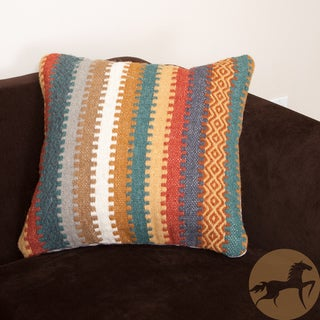 Christopher Knight Home Gabriela Wool Stripe Pillow