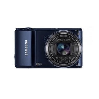 Samsung WB200F WiFi 16.4MP Black Smart Digital Camera