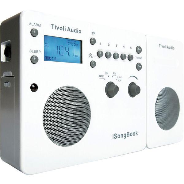Tivoli Audio iSongBook 2nd Generation Portable Am/FM Music for iPod