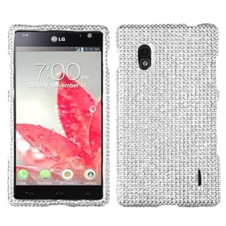 BasAcc Silver Diamante Phone Case for LG E970 Optimus G