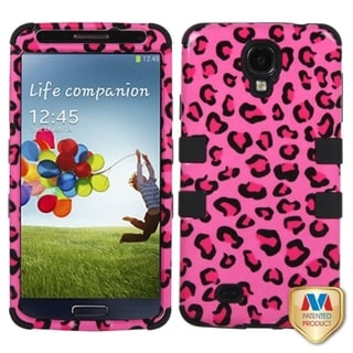 BasAcc Leopard/ Black TUFF Hybrid Case for Samsung Galaxy S4 i9500