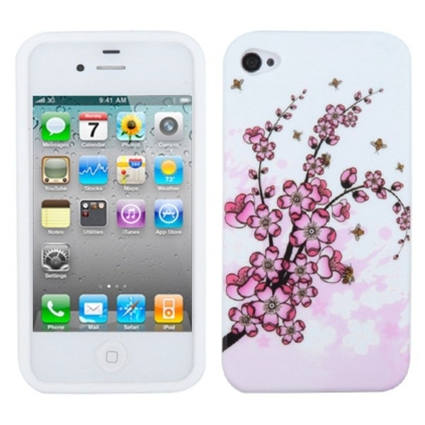 BasAcc Spring Flowers Skin Case for Apple iPhone 4S/ 4