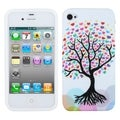BasAcc Love Tree Skin Case for Apple iPhone 4S/ 4