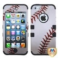 BasAcc Black Baseball Sports Collection Case for Apple iPhone 5