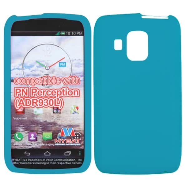INSTEN Tropical Teal Skin Phone Case Cover for Pantech ADR930LVW Perception