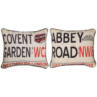 British Collection 16 x 14-inch Decorative Pillows (Set of 2)