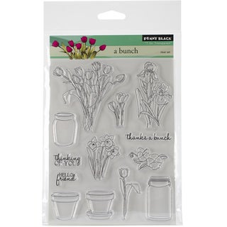 """Penny Black Clear Stamps 5""""X6.5"""" Sheet-A Bunch"""