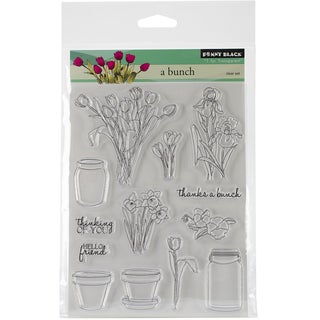 "Penny Black Clear Stamps 5""X6.5"" Sheet-A Bunch"