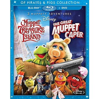 The Great Muppet Caper/Muppet Treasure Island Of Pirates & Pigs (Blu-ray/DVD) 11580227