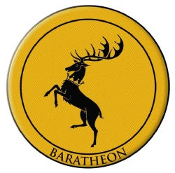 Game of Thrones Embroidered Patch: Baratheon (Other book format)