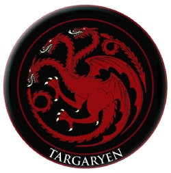 Game of Thrones Embroidered Patch: Targaryen (Other book format)