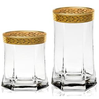 Lorren Home Trends Venezia 8-piece Beverage Set