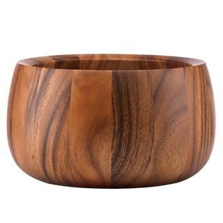 Dansk Wood Classics Tulip Salad Bowl