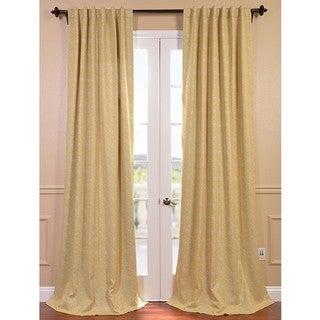 Haight Sunshine Pole Pocket Blackout Curtain Panel