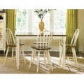 Low Country Liberty Linen Sand 5-piece Gathering Dining Set