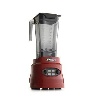 Omega BL630R Red 3-HP 64-ounce Variable Speed Blender