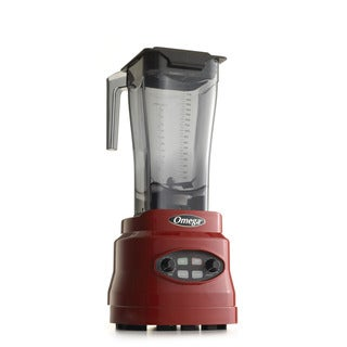 Omega BL630R Red 3-HP 64-ounce Variable Speed Blender