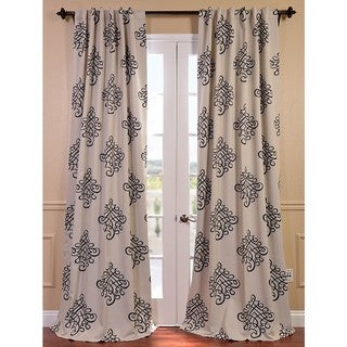 EFF Tugra Printed Blackout Pole Pocket Curtain Panel