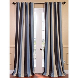 Portside Stripe Blackout Curtain Panel