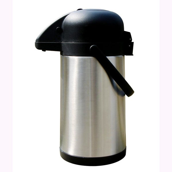 Brentwood CTSA-25 85-ounce Black Stainless Steel Coffee Thermos and Dispenser